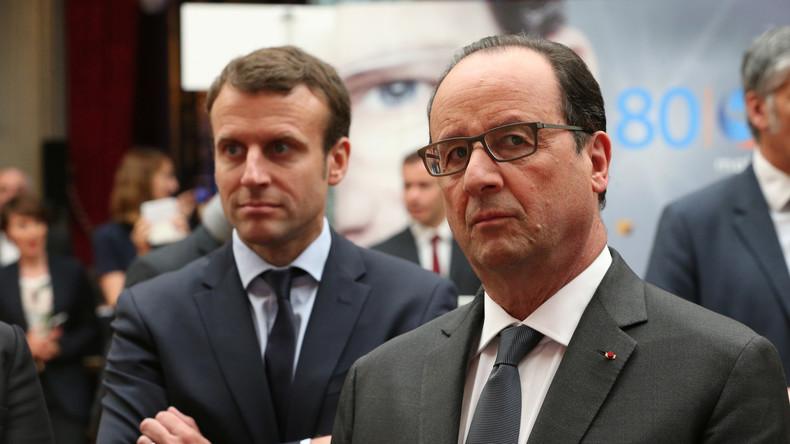 Jean Bricmont : avec Macron, Hollande mériterait «le prix Nobel de manipulation politique»