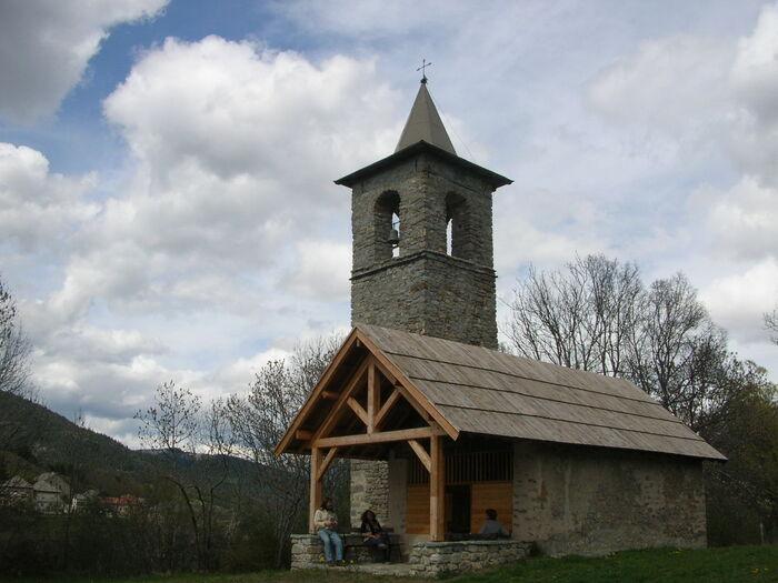 Le Haut Vernet et la chapelle Saint-Pancrace
