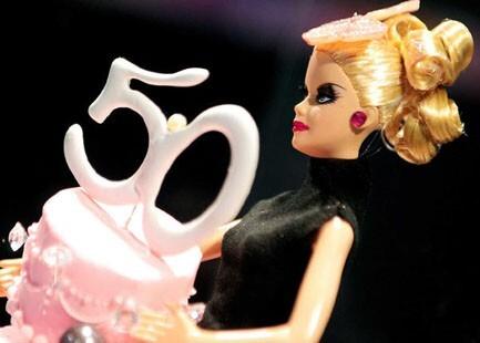 Barbie 50 ans