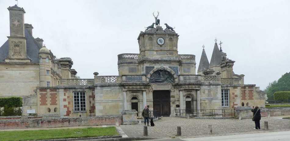 Parc du Château d'Anet.