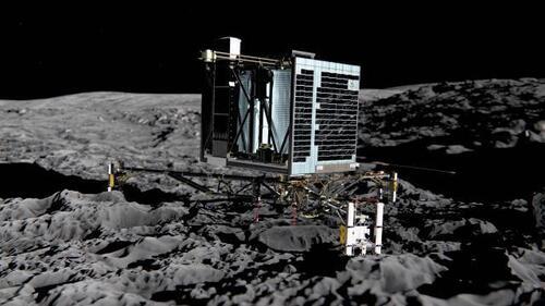 La sonde européenne va larguer le robot Philae