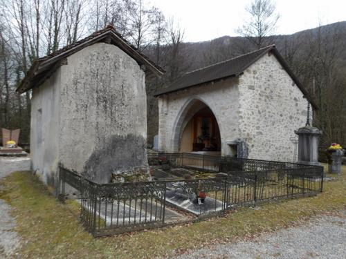 L'ancienne église de La Burbanche