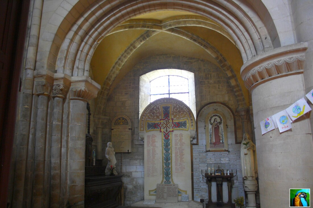 NORMANDIE /: mai 2017 Eglise Saint Samson d'Ouistream : 2/2