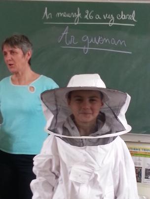 Ar gwenan : l'abeille