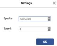 Voix de synthèse Paul et Julie sous Windows 10