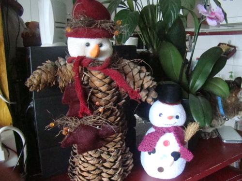 bonhomme de neige Mr John!!!