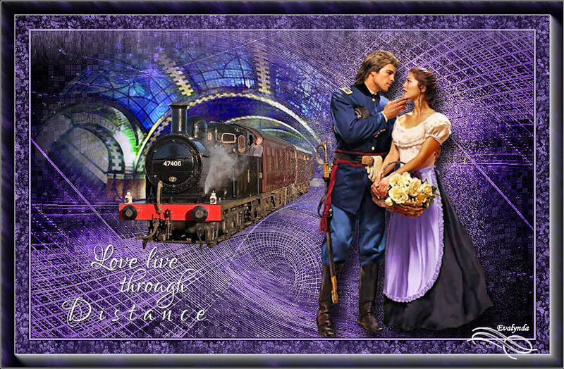 Train d'antan