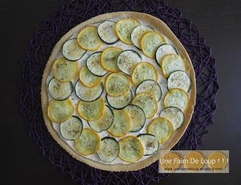 Clafoutis de courgette à la mozzarella