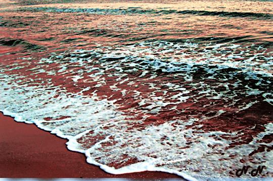 Comme le  sable