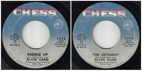 ALVIN CASH - SINGLE CHESS RECORDS 2098 - 1970