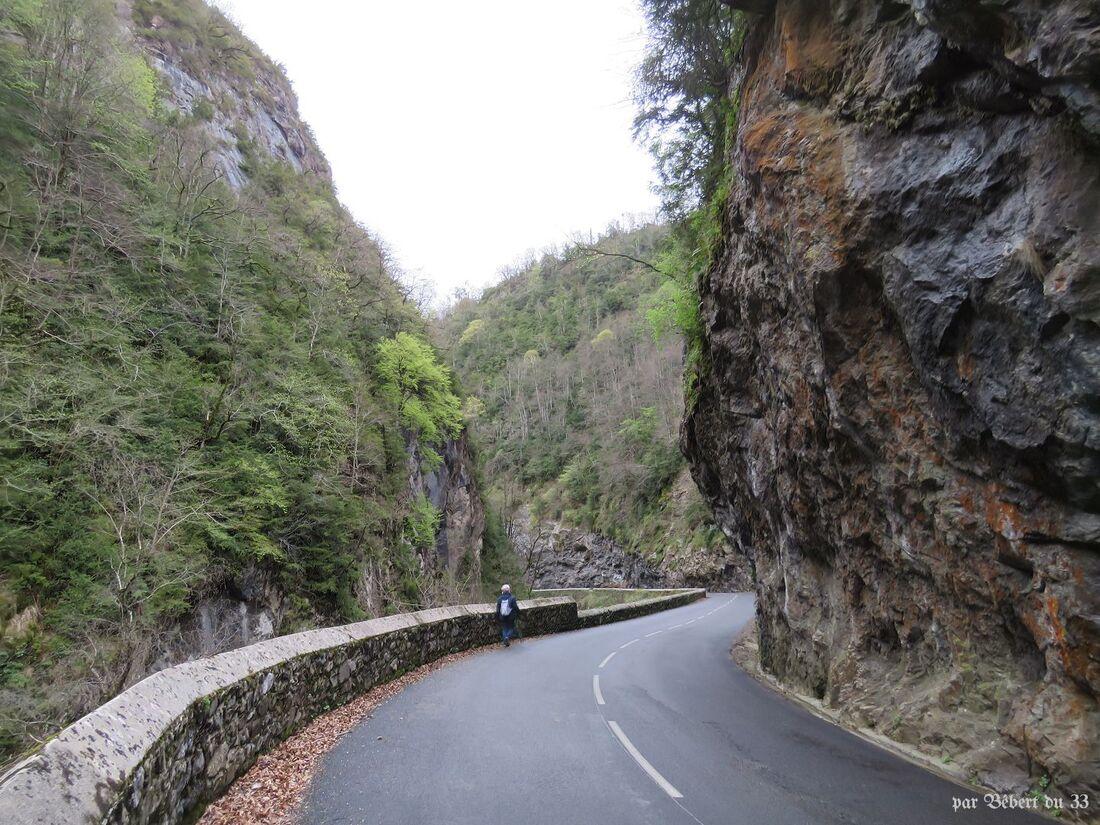 le tunnel à Laruns
