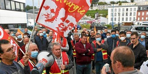 Les salariés des différents sites s'étaient mobilisés début septembre, aux portes du tribunal de commerce de Brest.