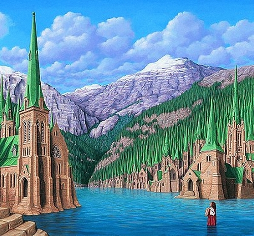 Peintre illusioniste ROB GONSALVES   -2-