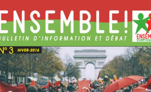 Bulletin d'Ensemble! janvier 2016