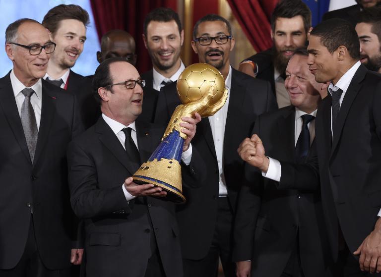 Handball : 5 fois champions du monde et une très  grosse prime pour les joueurs !