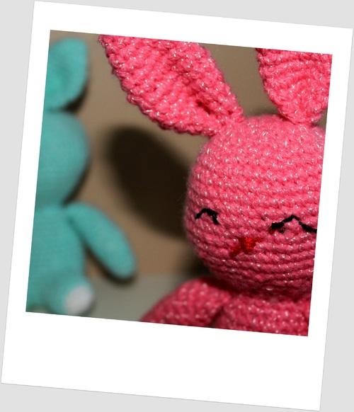 Ce matin, un...deux...trois lapins...