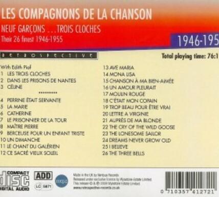 CD Anglais de 2008 B