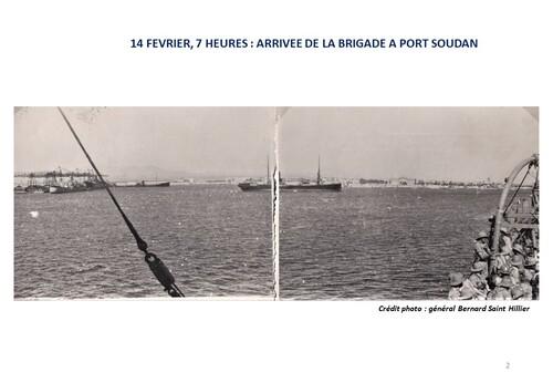* 80e Anniversaire de la Campagne d'Erythrée (février-mars 1941) - 3 - La Légion et la Compagnie du Train de Port-Soudan à l'Erythrée