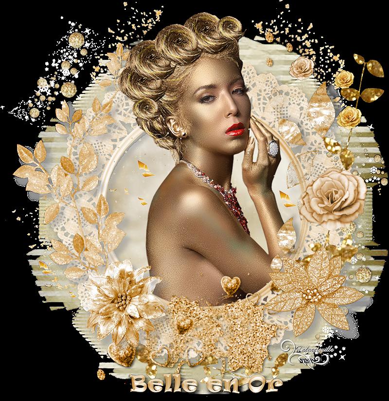 *** Belle en or ***