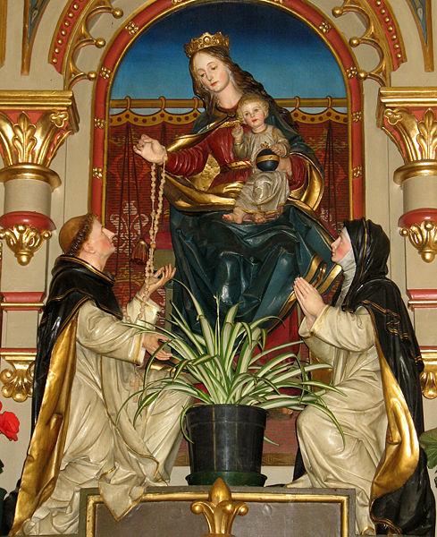 Le mois du rosaire : 24 octobre