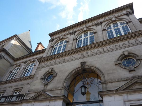 Maison internationale - façade