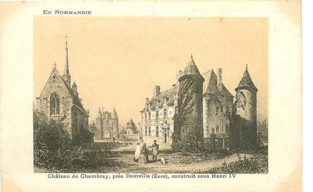 LES REMPARTS DE CHAMBRAY (Eure)