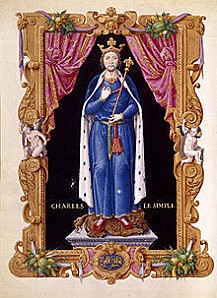 220px-CharlesIII le simple Jean de Tillet-Recueil des rois