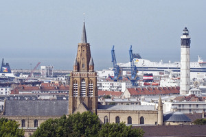 église Notre Dame, le phare, le port voyageurs