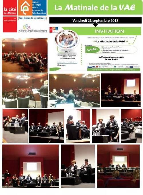 Participation du CIO à La Matinale de la VAE à Saint-Quentin
