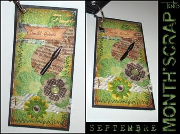 Month'Scrap - Septembre