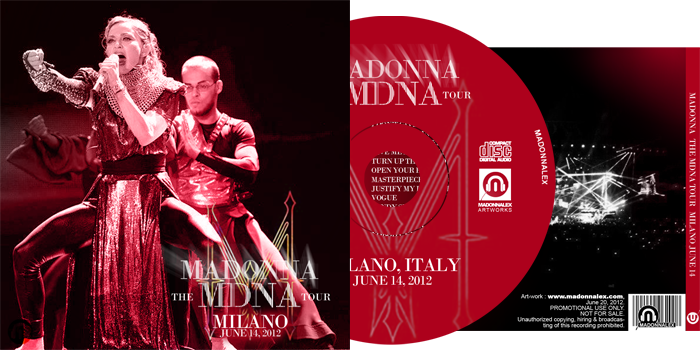 The MDNA Tour - Full Audio Milano