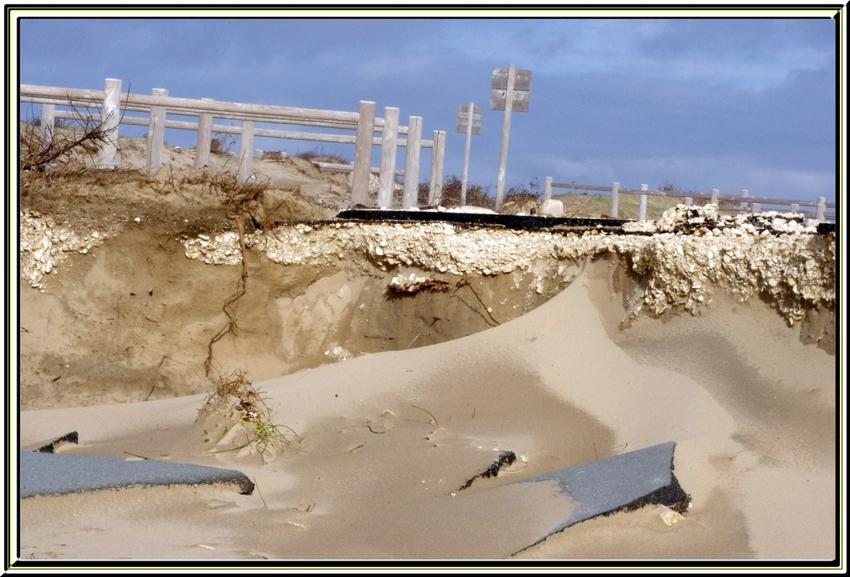 Le grand village (île d'Oléron )    photos de février 2014 pendant les tempêtes