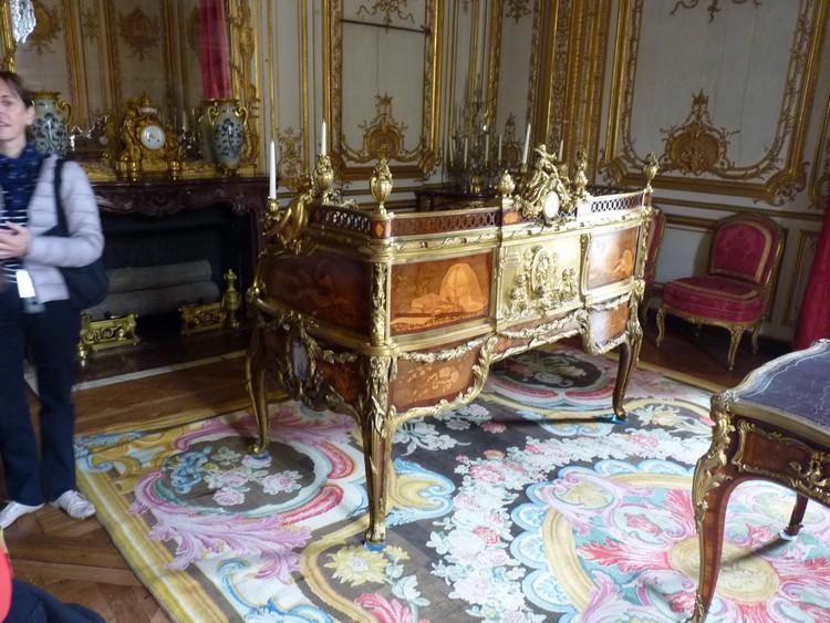 Cabinet intérieur de Louis XV