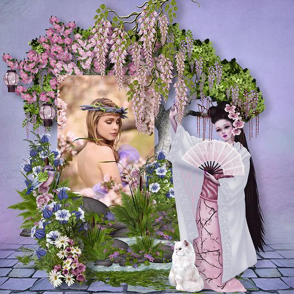 ORIENTAL DREAM by Scrap'Angie + freebie