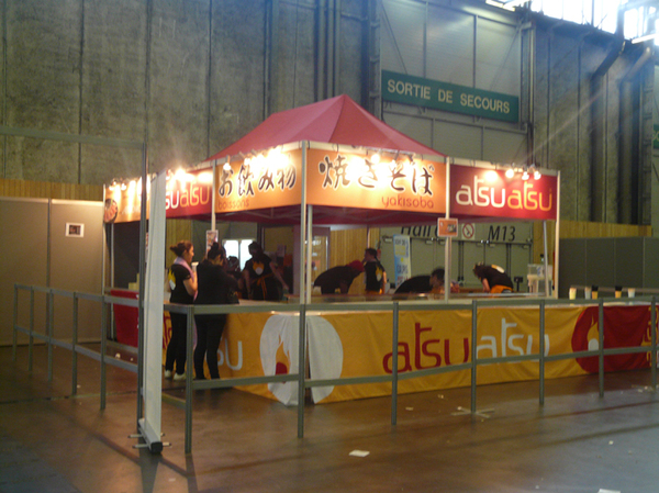 Repas Japan Expo