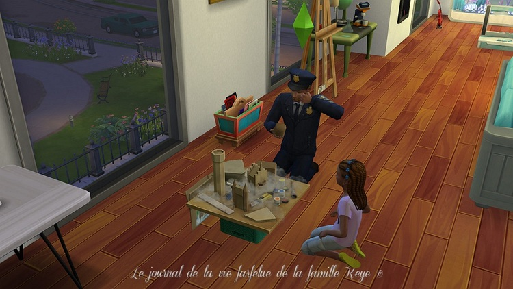 Le journal de la vie farfelue de la famille Keyes Episode 4 : Abbey