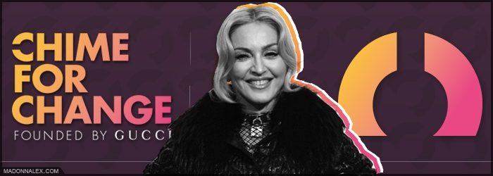 Madonna to join Chime For Change Live Concert
