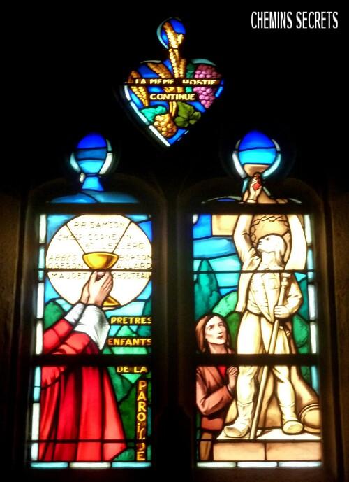 Les vitraux de la Séguinière....