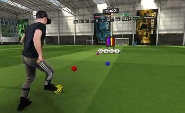Les joueurs peuvent s'entrainer grâce à la réalité virtuelle