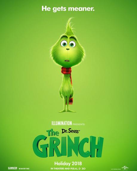 Le Grinch rajeunit sur l\u0027affiche du film d\u0027animation