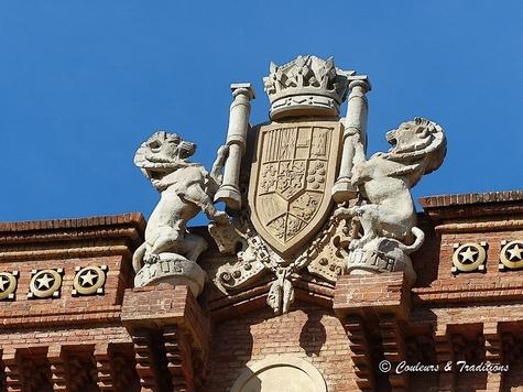 L'arc de Triomphe de la Place de la Citadelle