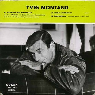 Yves Montand, 1958 suite et fin