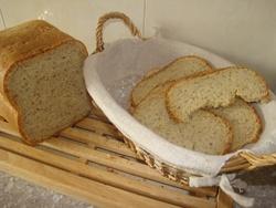 Mon pain aux noisettes et amandes