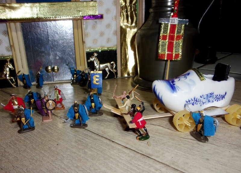 Aujourd'hui : après la saison des chocolats, voici venir celle des crêpes ; les mini-gens sont prêts à repartir à l'aventure.