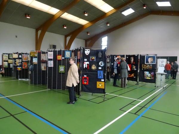 """Une superbe exposition """"Ruée sur les Arts Créatifs 2017"""" a été proposée salle Luc Schréder par la M.J.C. Lucie Aubrac"""