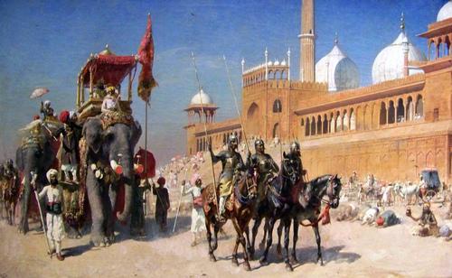 Peinture de : Edwin Lord Weeks
