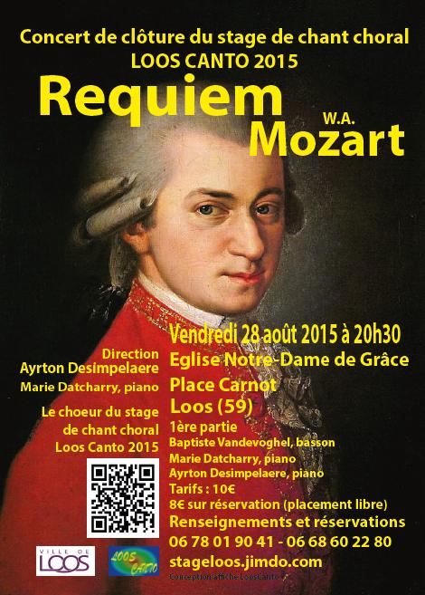 Requiem de Mozart à Loos