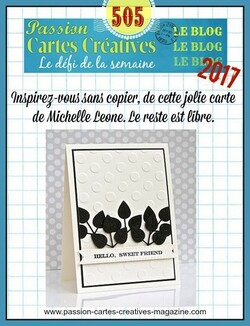 Passion Cartes Créatives#505 !