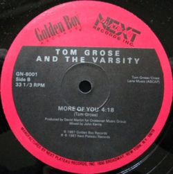 Tom Grose & The Varsity - More Of You
