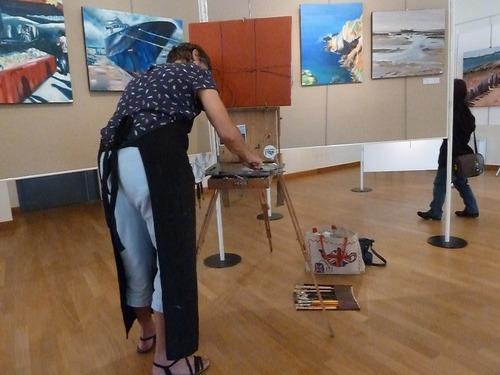 Démo de Hermine Jullien Salon d'été 2016